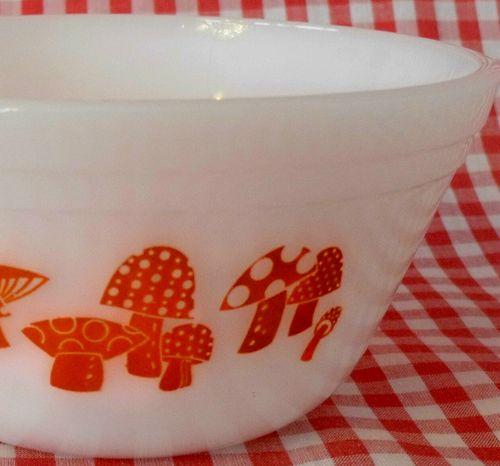Mushroom bowl first