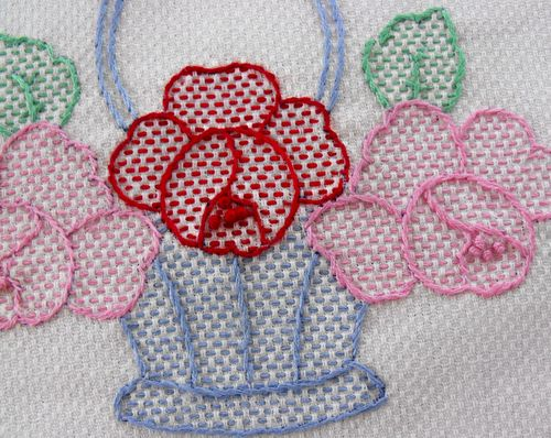 Stitch color and design
