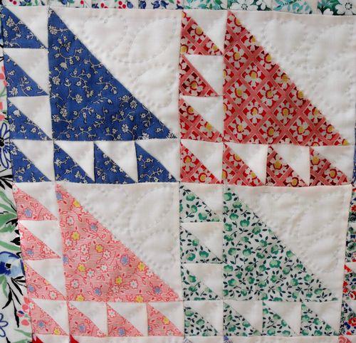 Quilt four squares