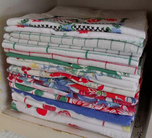 Hoosier tea towels