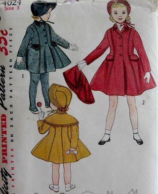 Coat with leggings