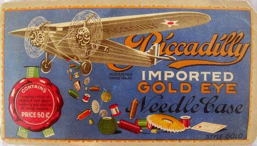 Plane needle case