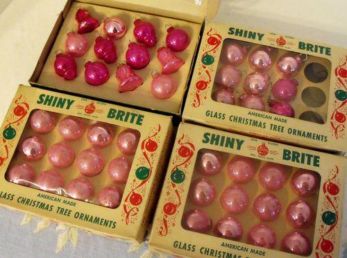 Pink shiny brites