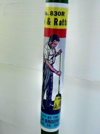 Broom handle