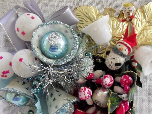 Christmas corsages