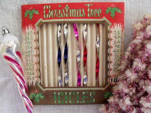 Christmas icicle box