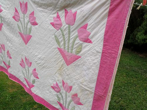 Quilt before