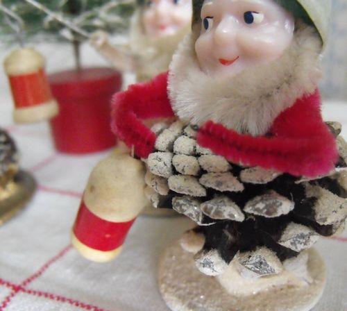 Elf with lantern