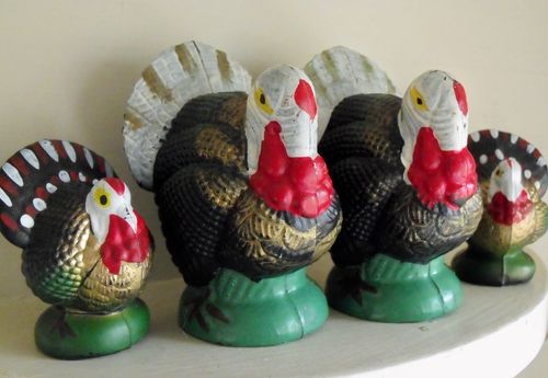 B plastic turkeys