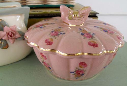 Pink dish