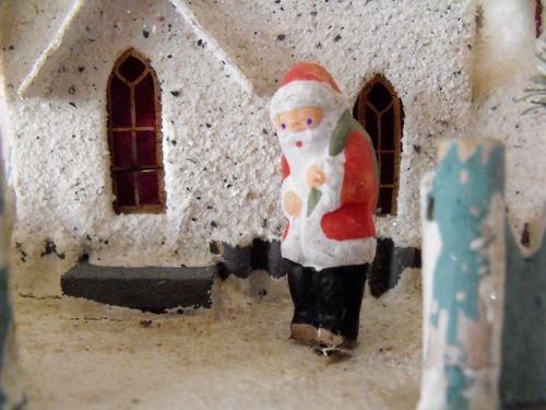 Santa at house