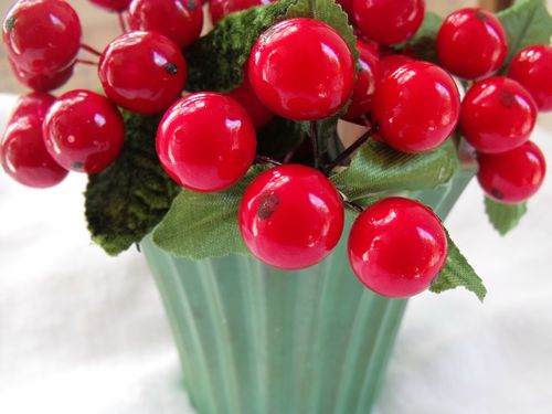Red millinery