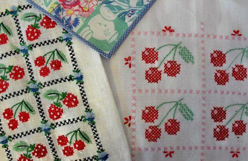 Cherry linens