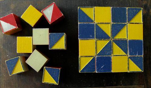 Pinwheel and blocks