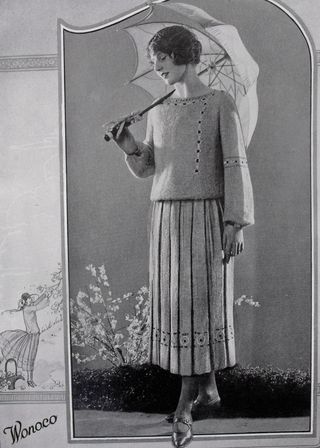 Knit 3 skirt