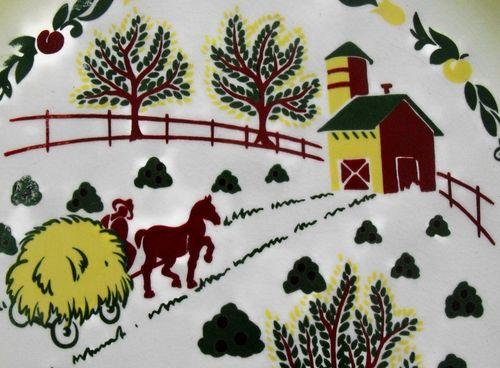 Farm scene close