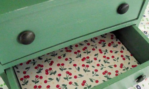 Open drawer empty