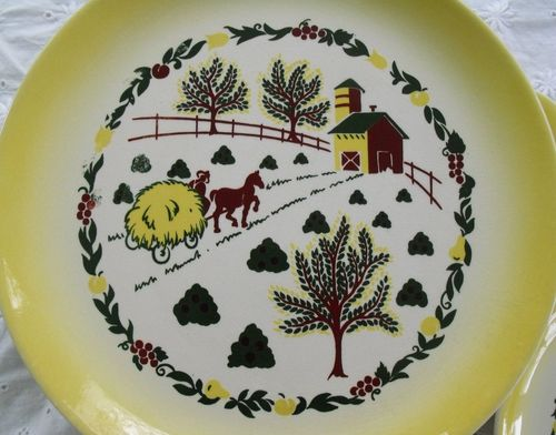 Plate scene