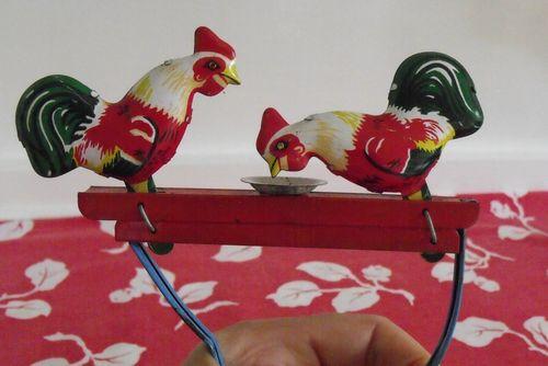 Garage sale chicken toy all