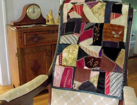 A chair quilt