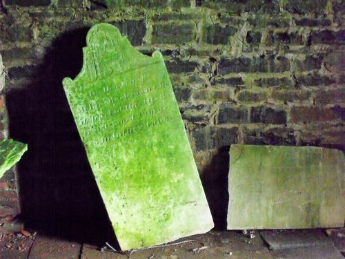 Inside crypt