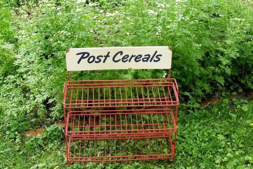 Garage sale post cereal