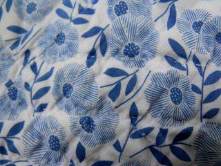 Quilt fabric back close