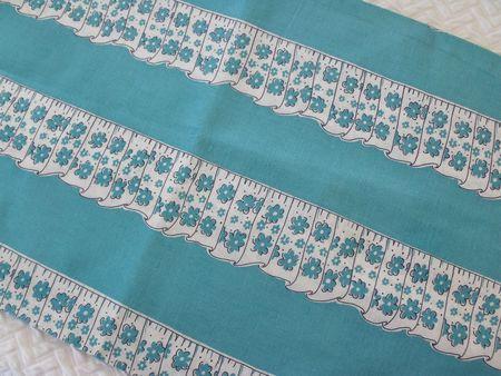 Blue curtain feedack