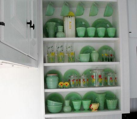 Kitchen shelves 2