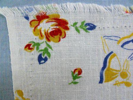 Stitching around corner