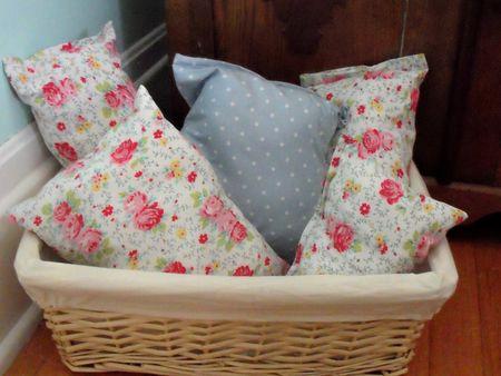Upstairs basket
