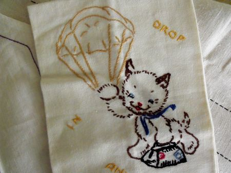 Kitty towel