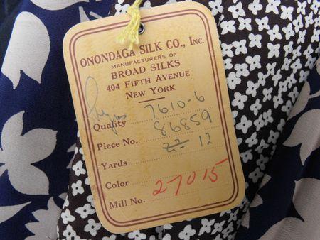 Silk tag