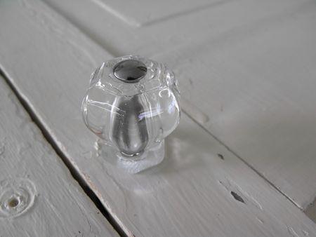 Glass knob