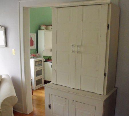 Cupboard inside