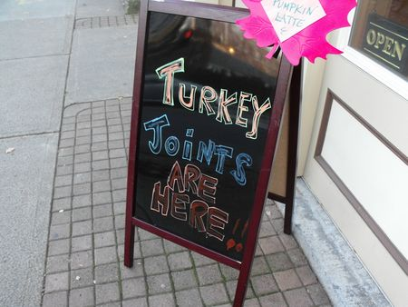 Turkey joints
