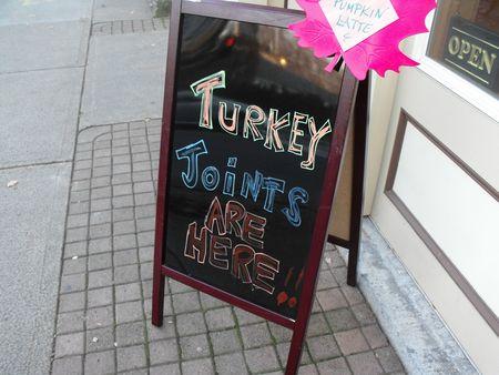 Turkey joints