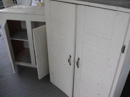 Cupboard before