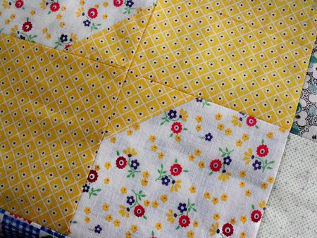 Quilt yellow
