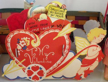 Valentine cart